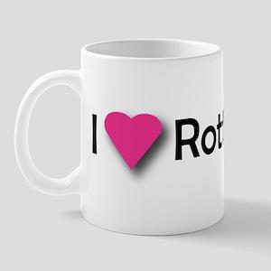 I LUV ROTTWEILERS Mug