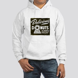 Delicious Donuts Hooded Sweatshirt