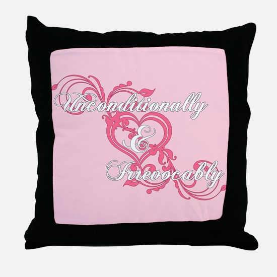 Twilight Irrevocably Valentine Throw Pillow