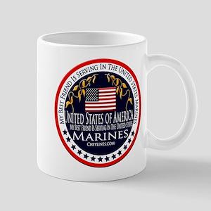 Marine Corps Best Friend Mug