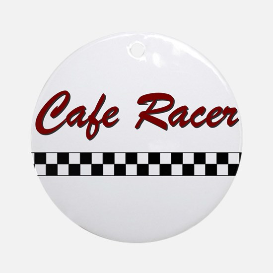 Cafe Racer Ornament (Round)