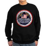 Marine Corps Girlfriend Sweatshirt (dark)