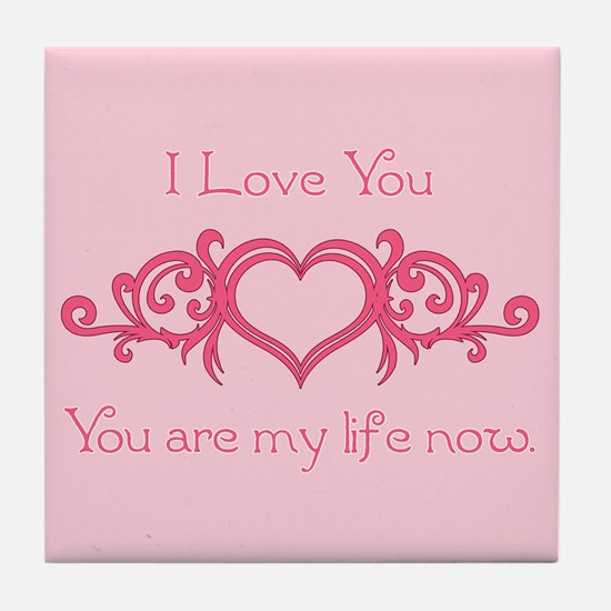 Twilight Valentine My Life Tile Coaster