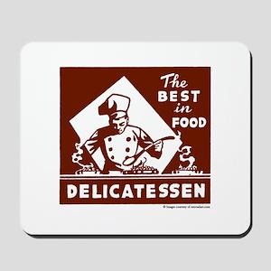 Best In Food Delicatessen Mousepad
