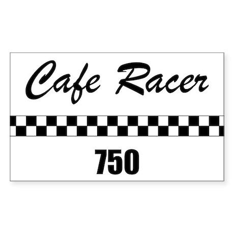 Cafe Racer 750 Rectangle Sticker