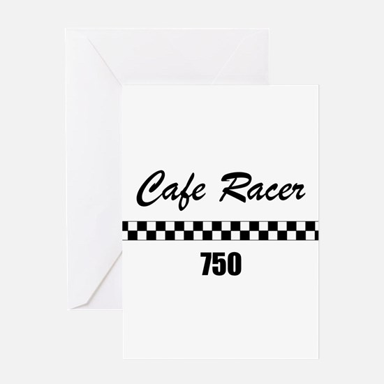 Cafe Racer 750 Greeting Card
