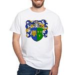 Schouten Family Crest White T-Shirt