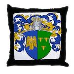 Schouten Family Crest Throw Pillow