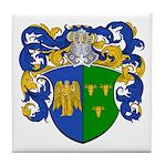 Schouten Family Crest Tile Coaster
