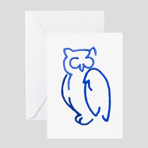 Patches 7 Greeting Card