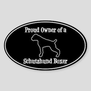 Schutzhund Boxer Sticker