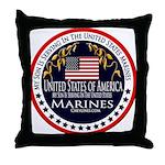 Marine Corps Son Throw Pillow