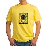 Ludlow Police Yellow T-Shirt
