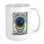 Ludlow Police Large Mug