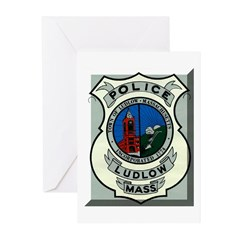 Ludlow Police Greeting Cards (Pk of 20)