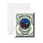 Ludlow Police Greeting Card