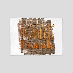 Trailer Trash 5'x7'Area Rug