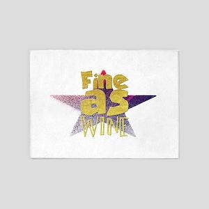 Fine as wine 5'x7'Area Rug