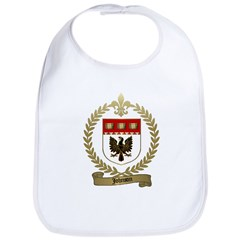 JOHNSON Family Crest Bib