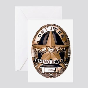 Irving Police Greeting Card