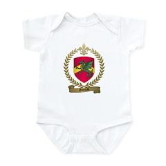 GARCEAU Family Crest Infant Creeper
