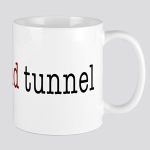 bridge and tunnel Mug