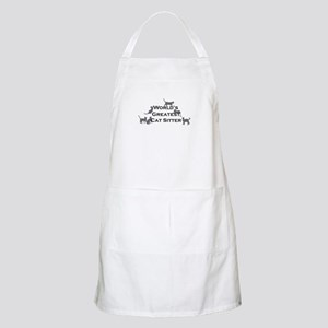 World's Greatest Cat Sitter BBQ Apron