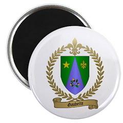 GAUDETTE Family Crest Magnet