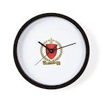 GAUTEROT Family Crest Wall Clock
