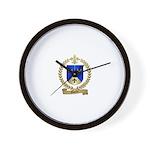 GAUTIER Family Crest Wall Clock