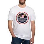 Coast Guard Girlfriend Fitted T-Shirt