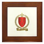 GAUTHREAU Family Crest Framed Tile
