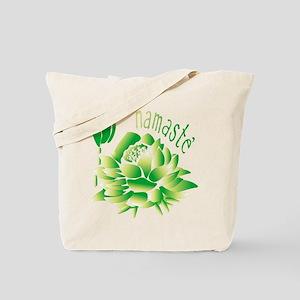 Go Green Lotus Tote Bag
