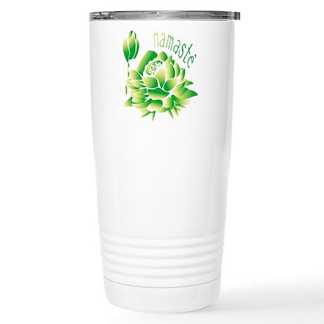 Go Green Lotus Stainless Steel Travel Mug