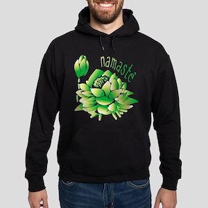 Go Green Lotus Hoodie (dark)