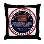 Coast Guard Son Throw Pillow