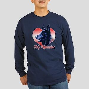 Black Shep Valentine Long Sleeve Dark T-Shirt