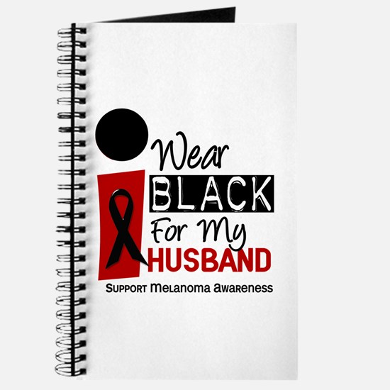 I Wear Black For My Husband 9 Journal