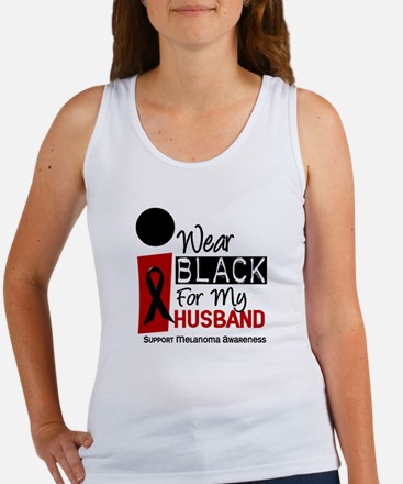 I Wear Black For My Husband 9 Women's Tank Top