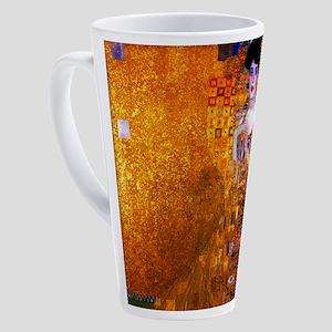 Klimt: Adele Bloch-Bauer I. 17 oz Latte Mug