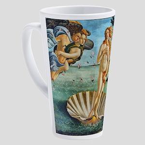 The Birth of Venus - Botticelli 17 oz Latte Mug