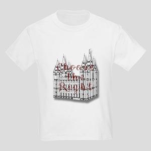 Temple Choose the Right Kids Light T-Shirt