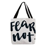 Fear Not Polyester Tote Bag