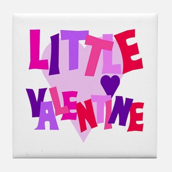 Little Valentine Tile Coaster