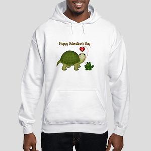 Hoppy Valentine's Hooded Sweatshirt