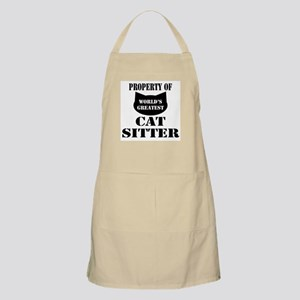 Prop. of Cat Sitter BBQ Apron