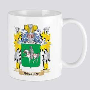 Mcguire Coat of Arms - Family Crest Mugs