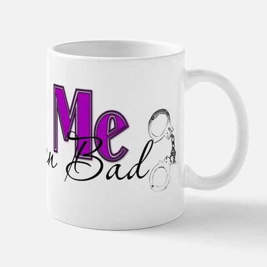 Policewife Cuff Me Mug