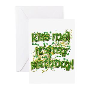 Irish wolfhound happy birthday greeting cards cafepress m4hsunfo Gallery