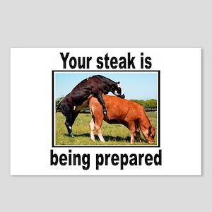 Steak Postcards (Package of 8)